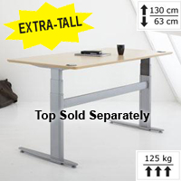 501-29 Series 2-Leg Extra-Tall Electric Height Adjustable Base