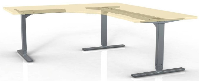 ErgoVerse Andromeda Electric Workstation Base 3-Leg