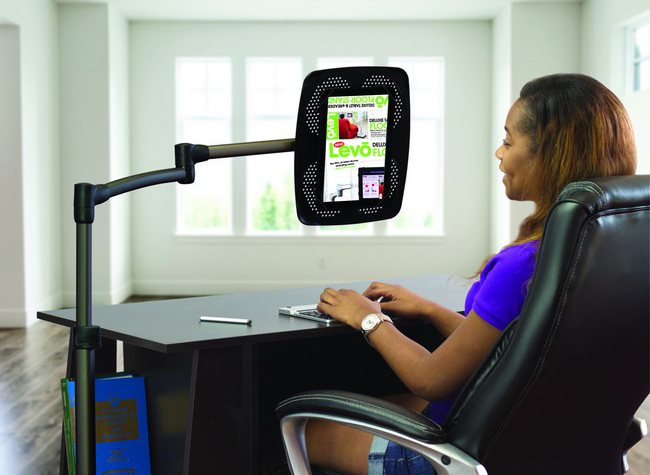 LEVO G2 Deluxe Floor Stand for iPads, Tablets and eReaders Images