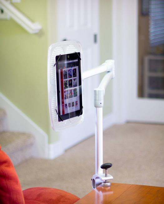 LEVO G2 Deluxe Table Clamp Stand for iPads, Tablets and eReaders