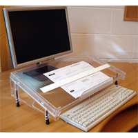 Standard Microdesk Document Holder / Writing Surface