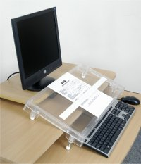Step Microdesk Document Holder / Writing Surface