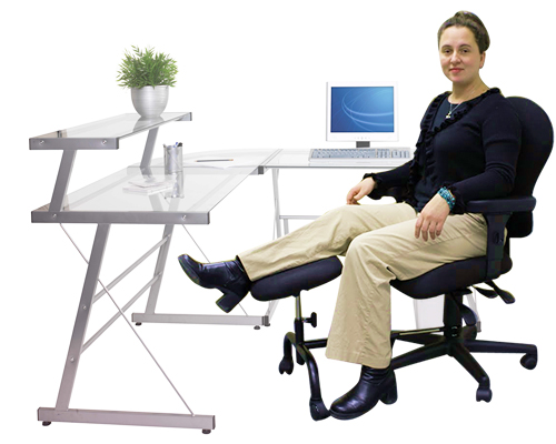 ErgoUP Double Leg and Foot Rest