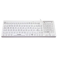 Washable Backlit Keyboard with 2-in-1 10-key Touchpad