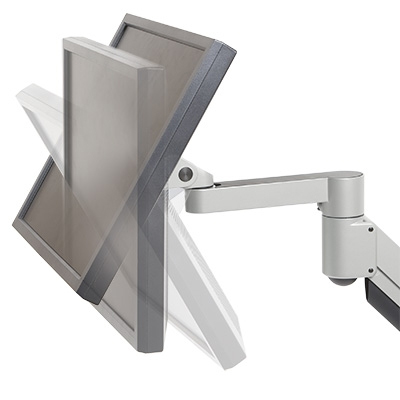Deluxe LCD Monitor Mount - tilting angles