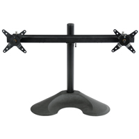 Dual Horizontal 100 Series Desk Stand