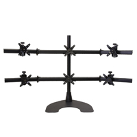 Hex 3 Over 3 100 Series Desk Stand
