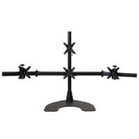Quad 1 Over 3 100 Series Desk Stand