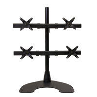 Quad 2 Over 2 100 Series Desk Stand