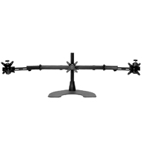 Triple Horizontal 100 Series Desk Stand