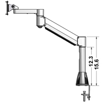 7500 Series LCD Arm Extender