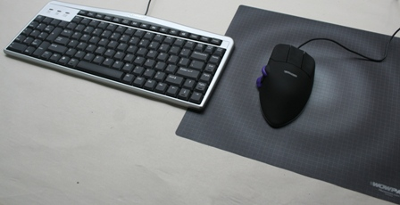 Evoluent Mouse Friendly Compact Keyboard with a Contour Mouse