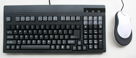 Compact Keyboard (SK3001) with Numeric Keypad on the right.