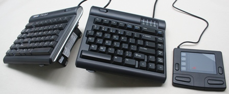 Freestyle Keyboard with Touchpad Mouse on the right