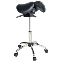 Kanewell Twin Adjustable Saddle Stool