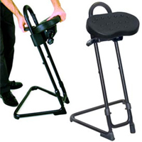 Industrial Sit Stand Stool