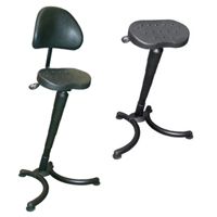 RISON Sit-Stand Leaning Stool