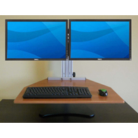 Kangaroo Elite Free Standing Adjustable Height Desk Unit