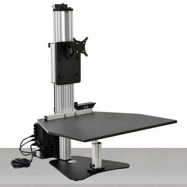 Electric Kangaroo Pro Free Standing Adjustable Height Desk Unit